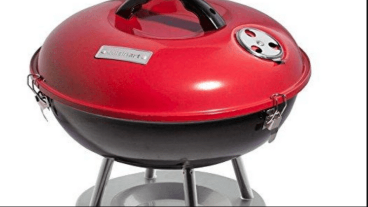 Cuisinart CCG-190RB portable charcoal grill