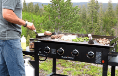 Top Flat Portable Gas Grills
