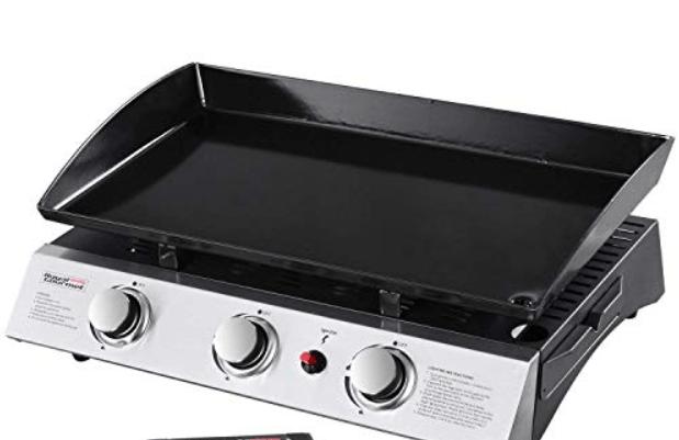 Royal Gourmet Tabletop 3-Burner Griddle