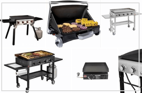 Top Best Flat Portable Gas Grills 2021